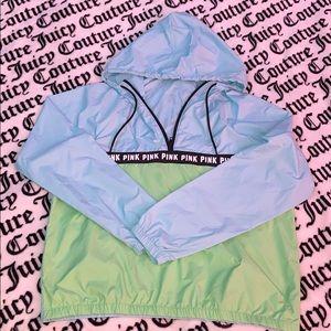 NWT PINK Wind Breaker / Hoodie / Pullover
